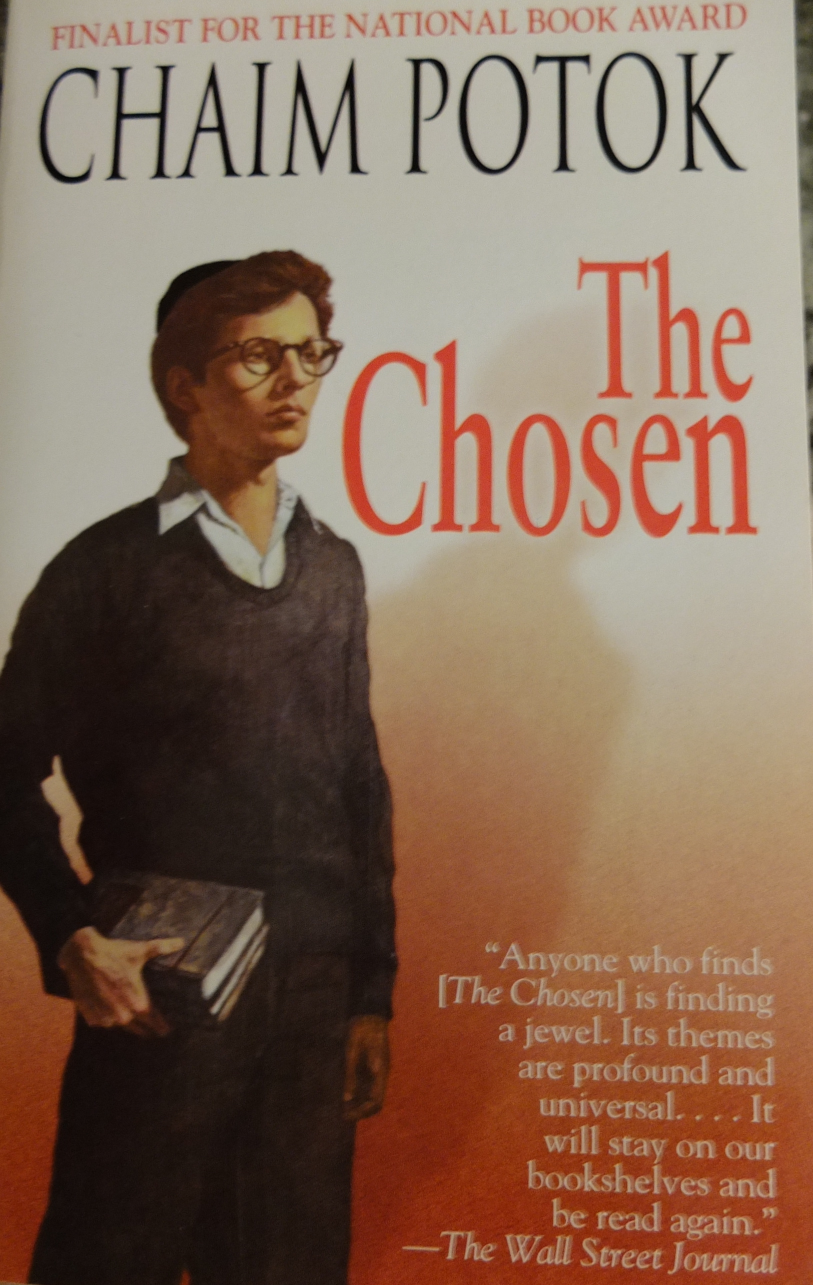 analysis of the novel the chosen by chaim potok A short summary of chaim potok's the chosen this free synopsis covers all the crucial plot points of the chosen sparknotes book two focuses on the rest of.