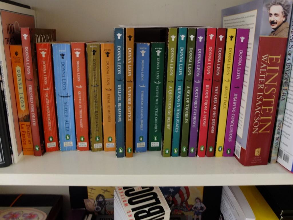 Donna Leon novels