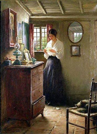 """The Letter"" by William Kay Blacklock"