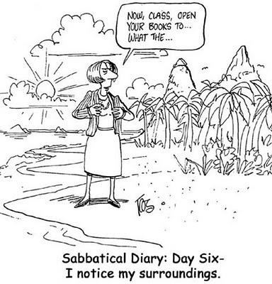 sabbatical comic