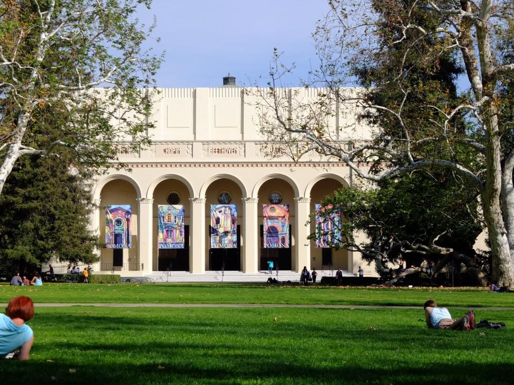 Pomona College quad
