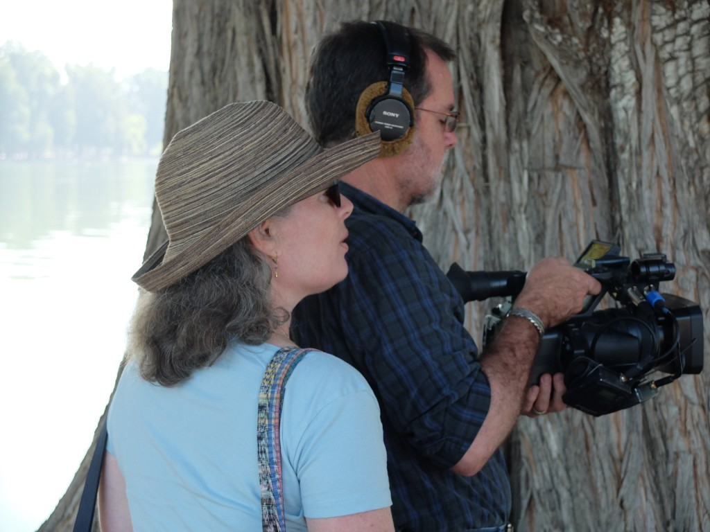 """Shooting """"Something Like a Sabbatical"""" Read more here: http://twointhemiddle.com/2015/03/17/something-like-a-sabbatical-the-film-enters-the-world/"""