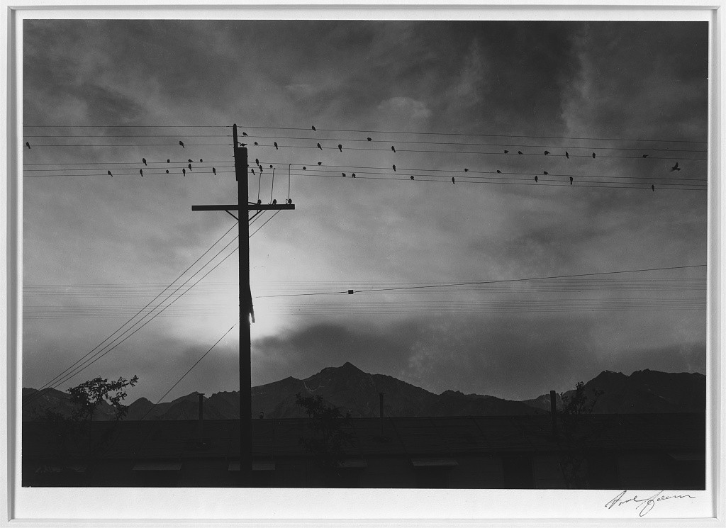 Ansels Adams Manzanar