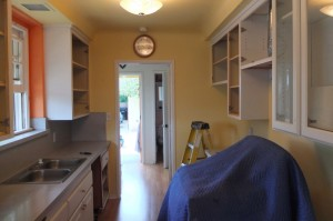 removing cabinets