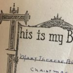 a 1944 Christmas book returns to its original owner